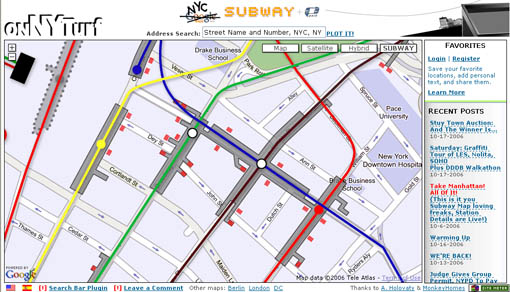 Subway Map New York Manhatten.Cool Thing Subway Map With Entrances Streetsblog New York City