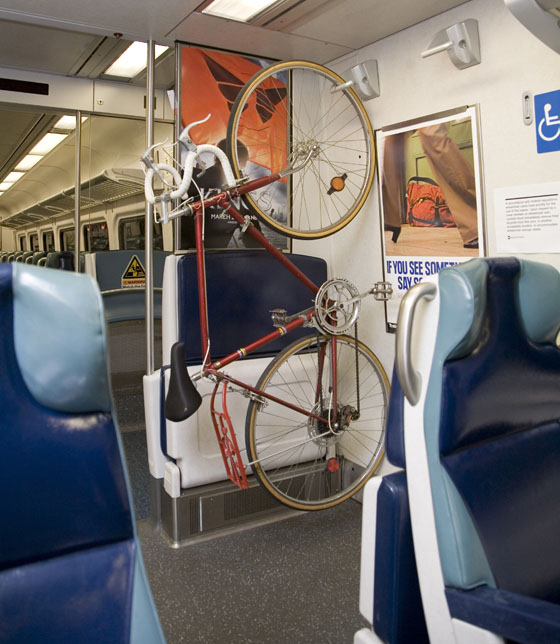 Metro-North Makes Its M-7 Train Cars More Bike-Friendly
