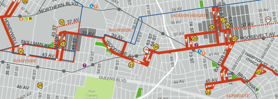 See Queens Shop in Queens on Your Bike Streetsblog New York City – New York City Map With Tourist Attractions