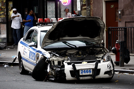 NYPD Cruiser Carnage: Move Along, Nothing to See Here