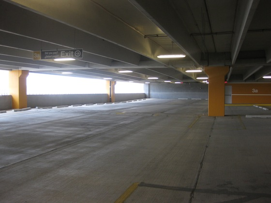Quinn Praises Empty Garage At East River Plaza Ribbon