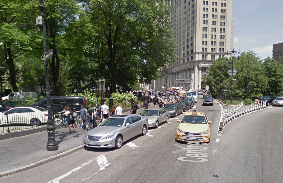 The Bike Lane Outside City Hall Isn\'t Full of Parked Cars Anymore ...