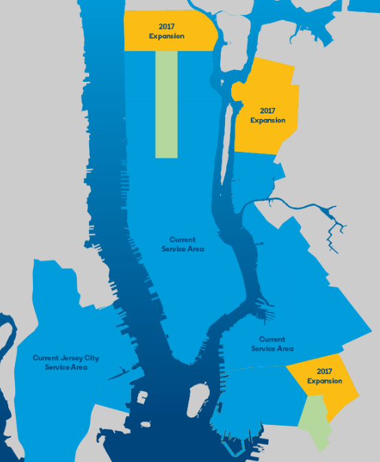 Bike Share Expansion In Harlem Astoria And Central Brooklyn Starts