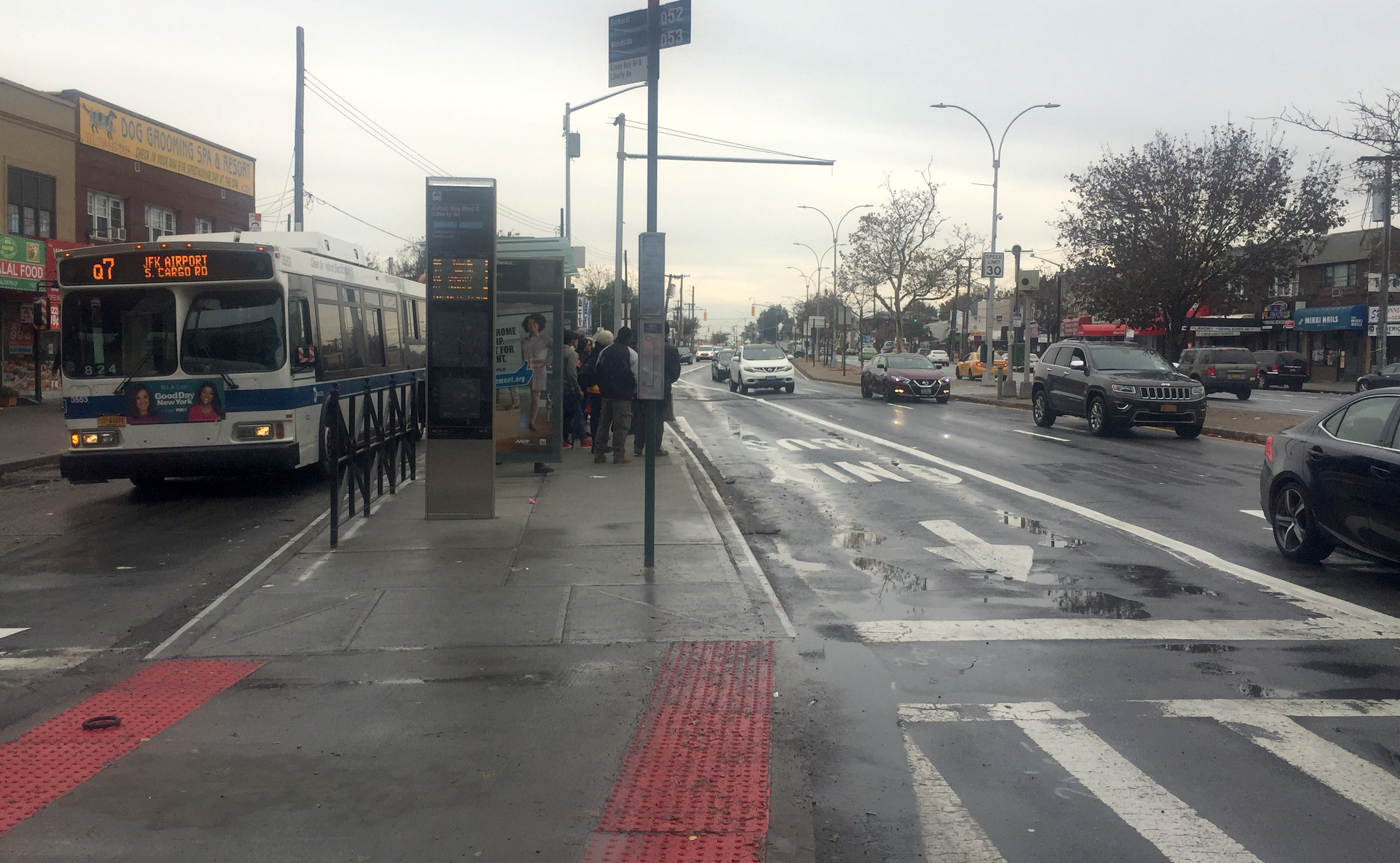 Select Bus Service Launches On Woodhaven Boulevard Streetsblog New