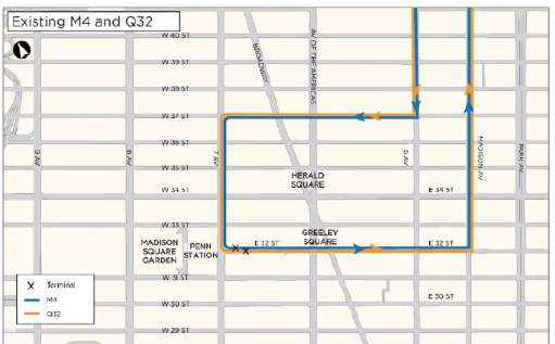 Will the MTA Make Room for a Pedestrian-Friendly 32nd Street ... Q Bus Map on q84 bus map, q31 bus map, queens bus map, m3 bus map, q55 bus map, q112 bus map, q17 bus map, q83 bus map, q12 bus map, q44 bus map, q23 bus map, m1 bus map, q30 bus map, q102 bus map, q76 bus map, q20 bus map, m2 bus map, q104 bus map, q25 bus map, m21 bus map,