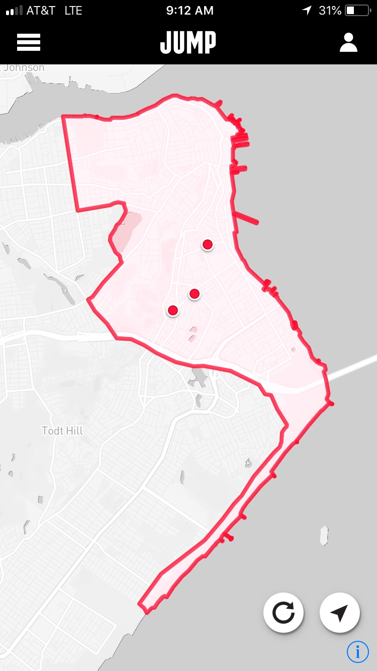 JUMP's Bikes Aren't Showing Up in Its App on Staten Island