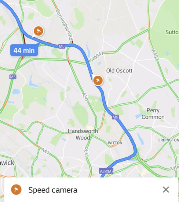 APP-HORRENT! Google Maps Now Helps Drivers Avoid Speed Cameras ...